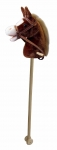 ULTRATOYS 10547 HOBBY HORSE IN BROWN