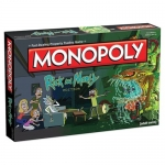 USAOPOLY MN085-434 RICK AND MORTY MONOPOLY GAME