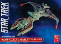AMT 1027 1:1400 STAR TREK KLINGON VORCHA CLASS BATTLE CRUISER