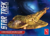 AMT 1028 1:750 STAR TREK DEEP SPACE NINE CARDASSIAN GALOR-CLASS WARSHIP