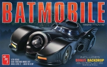 AMT 935 1:25 BATMAN 1989 MOVIE: BATMOBILE