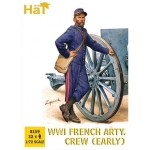 HAT 8159 1:72 WWI FRENCH ARTILLERY CREW (32)