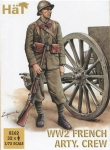 HAT 8162 1:72 WWII FRENCH ARTILLERY CREW (32)