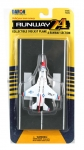 RUNWAY 135 F16A FIGHTING FALCON THUNDERBIRDS USAF MILITARY PLANE
