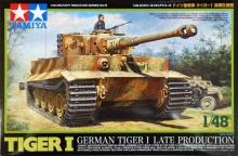 TAMIYA 32575 1:48 GERMAN TIGER I LATE PRODUCTION TANK