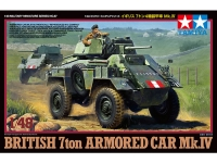 TAMIYA 32587 1:48 BRITISH 7-TON MK IV ARMORED CAR