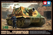 TAMIYA 32591 1:48 GERMAN 38CM ASSAULT MORTAR STURMTIGER TANK