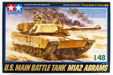 TAMIYA 32592 1:48 US M1A2 ABRAMS MAIN BATTLE TANK
