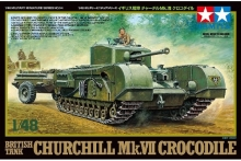 TAMIYA 32594 1:48 BRITISH CHURCHILL MK VII CROCODILE TANK