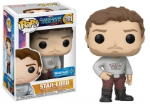 FUNKO 21460 GUARDIANS OF GALAXY 2 POP VINYL FIGURE (STAR-LORD W/ T-SHIRT) WM