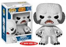 FUNKO 04001 STAR WARS POP VINYL FIGURE 6 (WAMPA) R