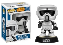 FUNKO 04155 STAR WARS POP VINYL FIGURE (BIKER SCOUT) R