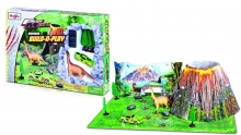 MAISTO 12518 BUILD N PLAY DINO PLAYSET
