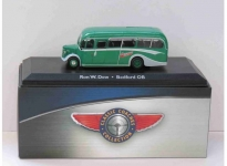 MAGAZINE BUS4642103 1:72 BEDFORD OB RON W.DREW, GREEN/GREY