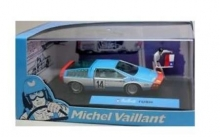 MAGAZINE MVRUSH RUSH -14 MICHEL VAILLANT SERIES, LIGHT BLUE/WHITE/RED