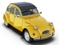 MAGAZINE PC2CV CITROEN 2CV SUPER, YELLOW