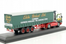 MAGAZINE STOJV9137 1:76 SCANIA 112 CURTAINSIDE STOBART, GREEN/RED/WHITE