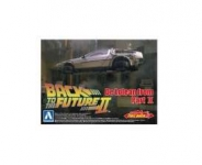 AOSHIMA 15476 1:43 DELOREAN BACK TO THE FUTURE II, PLASTIC MODELKIT