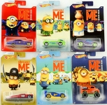 MATTEL DWF12 1:64 DESPICABLE ME MINIONS THEME CAR