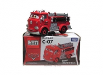 TOMICA C07 PIXAR CARS 2 RED FIRE ENGINE TOMICA C-07 DIECAST MODELCAR