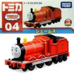 TOMICA T04 THOMAS & FRIENDS JAMES TOMICA 04 DIECAST MODELTRAIN