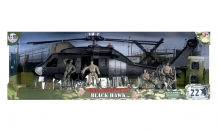 MCTOYS 77026 WORLD PEACEKEEPERS- BLACK HAWK  (4 FIGURES INCLUDED)