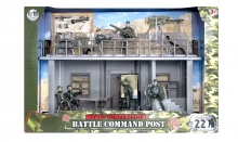 MCTOYS 77030 WORLD PEACEKEEPERS- BATTLE COMMAND POST (6 FIGURES INCLUDED)