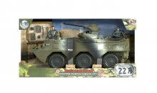 MCTOYS 77039 WORLD PEACEKEEPERS- INFANTRY FIGHTING VEHICLE (IFV) (2  FIGURES INCLUDED)