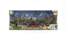 MCTOYS 77061 WORLD PEACEKEERPERS- TRANSORTATION UNIT (2 FIGURE INCLUDED)