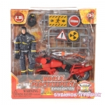 MCTOYS 77310 WORLD PEACEKEEPERS- FIRE FIGHTER .