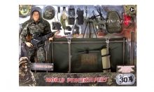 MCTOYS 90402 WORLD PEACEKEEPERS - GUNNER PLAYSET
