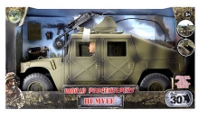 MCTOYS 90618 WORLD PEACEKEEPERS – 12 PULG MILIATARY FIGURE W HUMVEE