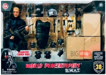 MCTOYS 91400 WORLD PEACEKEEPERS – S.W.A.T.