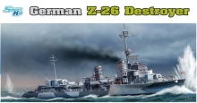 DRAGON 1064 1:350 GERMAN Z26 DESTROYER