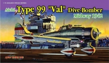 DRAGON 5107 1:72 TYPE 99 DIVE-BOMBER MIDWAY 1942