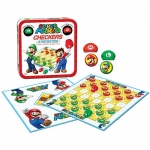 USAOPOLY CM005-191 BOARD GAME SUPER MARIO CHECKERS/TIC TAC TOE
