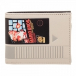BIOWORLD MW4W NOVELTY WALLET NINTENDO MARIO CARTRIDGE BIFOLD