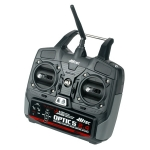 HITEC OPTIC 5 5-CH 2.4GHZ TRANSMITTER, MINIMA6T RECEIVER