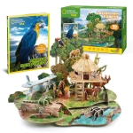CUBIC DS0979H AMAZON RAIN FOREST LIBRO EN INGLES