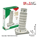 CUBIC C241H LEANING TOWER OF PISA