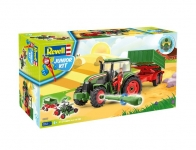 REVELL 00817 TRACTOR & TRAILER WITH FIGURE 1:20