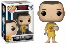 FUNKO 35057 POP! TELEVISION: / STRANGER THINGS - ELEVEN IN BURGER T-SHIRT