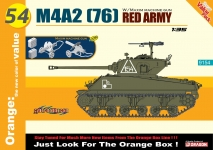 DRAGON 9154 1:35 M4A2 (76) RED ARMY