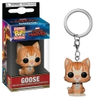 FUNKO 36440 POP! KEYCHAINS: / MARVEL - CAPTAIN MARVEL - GOOSE THE CAT