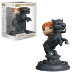 FUNKO 35518 MOVIE MOMENT: / HARRY POTTER - RON RIDING CHESS PIECE