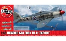 AIRFIX 06106 HAWKER SEA FURY FB11 EXPORT 1:48