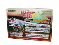 BACHMANN 00749 HO RBBB THE GREATIST SHOW ON EARTH SPECIAL