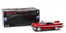 GREENLIGHT 84082 1:24 CHRISTINE (1983) - 1958 PLYMOUTH FURY ( EVIL VERSION )
