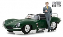 GREENLIGHT 86434 1:43 STEVE MCQUEEN COLLECTION (1930- 80) - 1956 JAGUAR XKSS