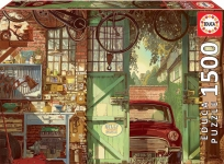 EDUCA 18005 PUZZLE 1500 PIEZAS OLD GARAGE, ARLY JONES F